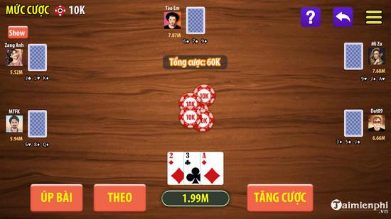 top game danh bai lieng online offline hay nhat 4