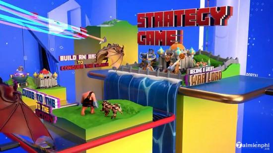 Các game có trên App Cổng game ZingPlay