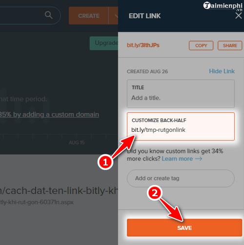 Rút gọn link và tạo mã QR Code với goo.gl 4