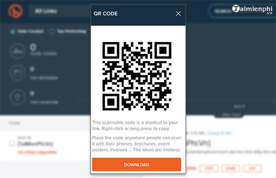 Rút gọn link và tạo mã QR Code với goo.gl 8