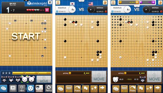 Top game Cờ vây nhiều người chơi