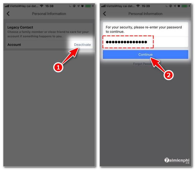 Cách khóa Facebook trên điện thoại iPhone, Android tạm thời hoặc vĩnh viễn