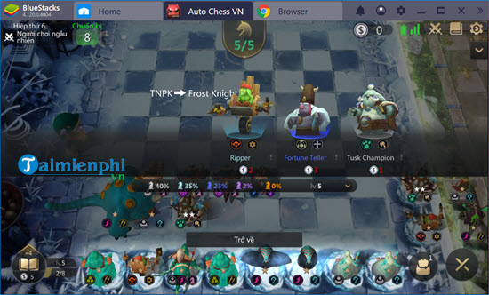 che do nguoi anh em thien lanh trong auto chess mobile co gi hay 13