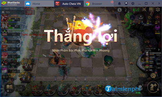 che do nguoi anh em thien lanh trong auto chess mobile co gi hay 15