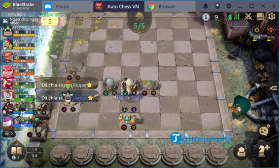 che do nguoi anh em thien lanh trong auto chess mobile co gi hay 10