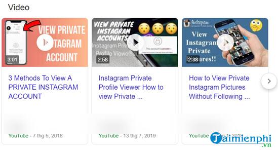 Cách xem Instagram riêng tư của người khác 3