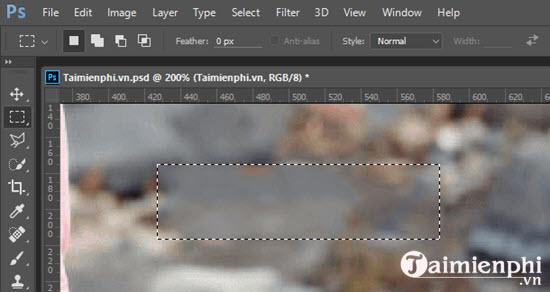 Hướng dẫn xóa chữ trên ảnh bằng Photoshop