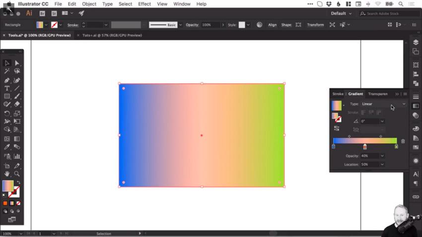 Cách Tạo và Chỉnh sửa Gradient trong Adobe Illustrator