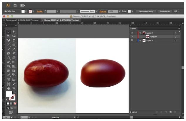 Tìm hiểu cơ bản về Mesh Tool trong Illustrator