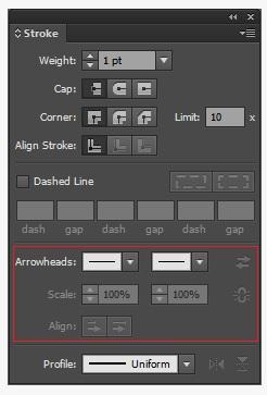 Tìm hiểu về Stroke của Illustrator