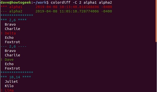 so sanh 2 file text file van ban tren linux terminal 10
