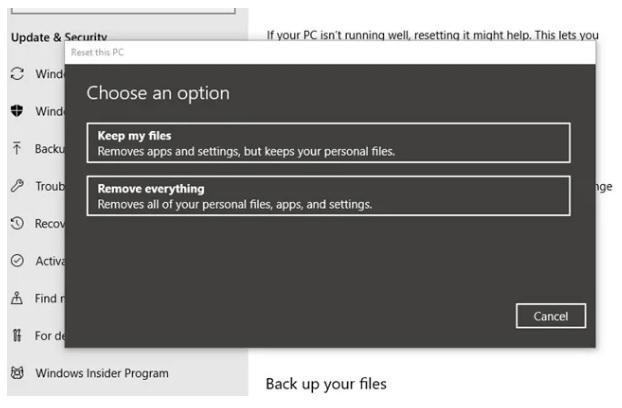cach quet malware tren windows 10 8