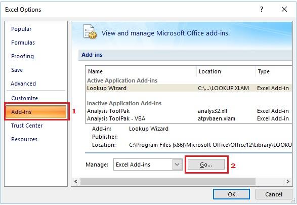 Sửa lỗi Excel bị treo, không phản hồi trên Windows 10 5