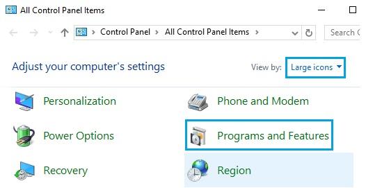 Sửa lỗi Excel bị treo, không phản hồi trên Windows 10 7