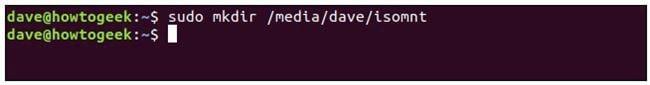 Cách mount, gắn thiết bị lưu trữ trên Linux Terminal