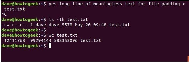cach su dung lenh yes tren linux 12