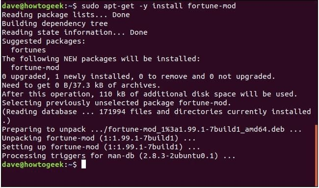 cach su dung lenh yes tren linux 10