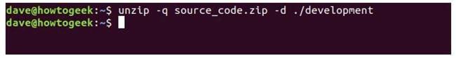 nen va giai nen file zip tren terminal linux 17