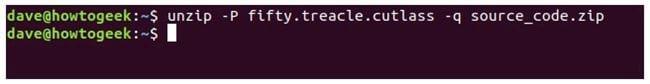 nen va giai nen file zip tren terminal linux 19