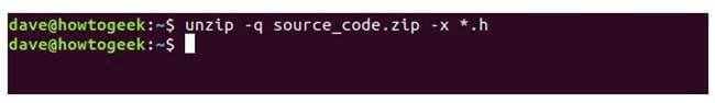 nen va giai nen file zip tren terminal linux 20
