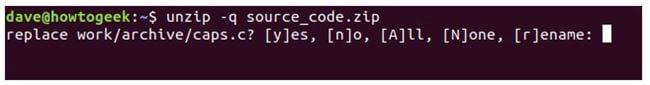 nen va giai nen file zip tren terminal linux 21