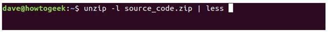 nen va giai nen file zip tren terminal linux 24