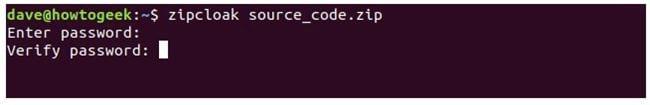 nen va giai nen file zip tren terminal linux 26