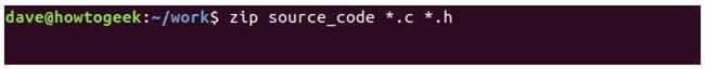 nen va giai nen file zip tren terminal linux 4