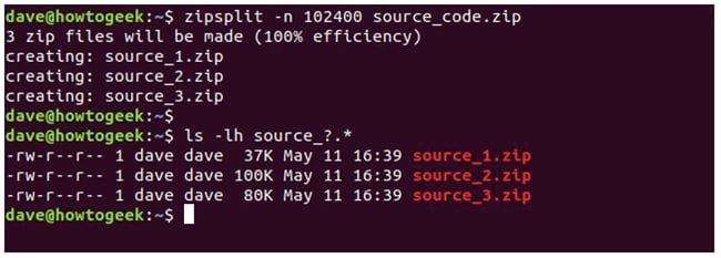 nen va giai nen file zip tren terminal linux 32