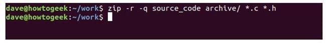 nen va giai nen file zip tren terminal linux 8
