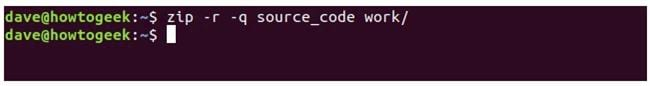 nen va giai nen file zip tren terminal linux 9