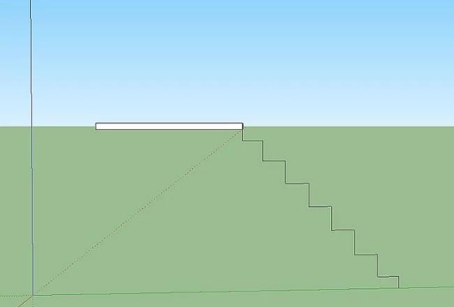Tạo cầu thang nội thất trong Sketchup