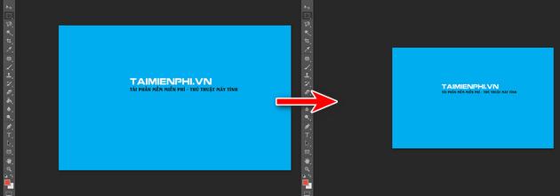 Đối kích thước ảnh trên Photoshop CS6