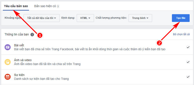 Khôi phục bài đăng đã xóa trên Facebook Fanpage 3