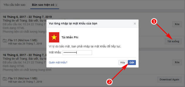 Khôi phục bài đăng đã xóa trên Facebook Fanpage 4