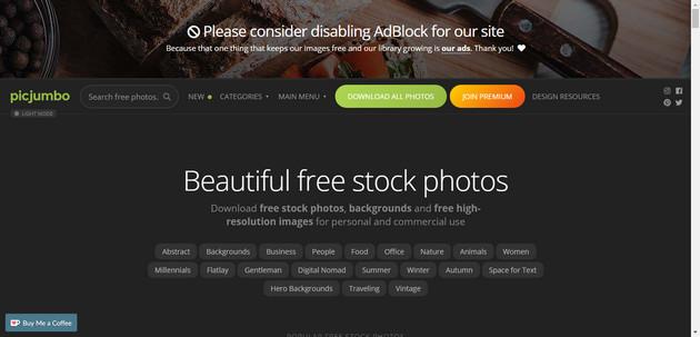 Top website cung cấp ảnh Stock miễn phí