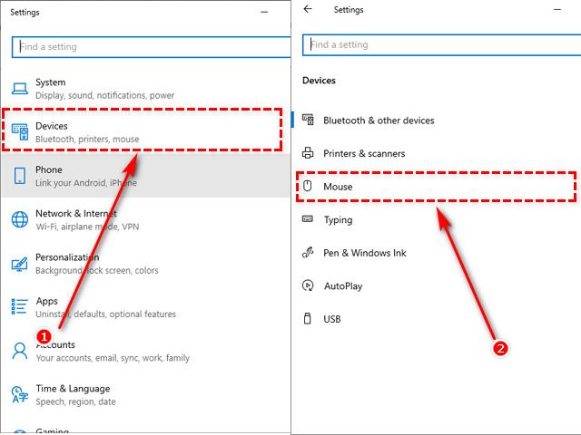 Cách chỉnh tốc độ chuột trên Windows 10 đơn giản nhất 2