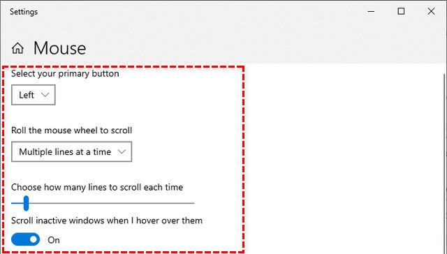 Cách chỉnh tốc độ chuột trên Windows 10 đơn giản nhất 3