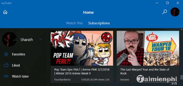 Top ứng dụng YouTube dành cho Windows 10 4