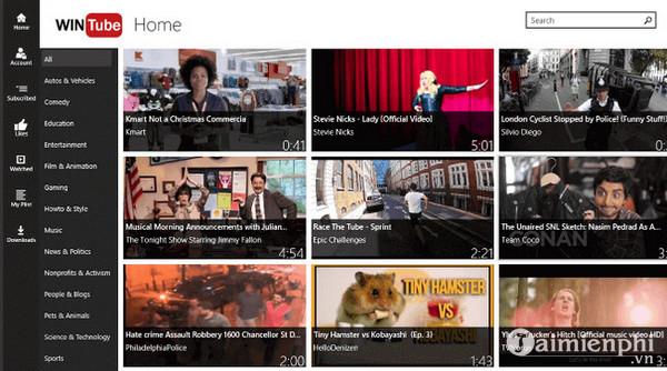 Top ứng dụng YouTube dành cho Windows 10 5