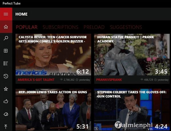Top ứng dụng YouTube dành cho Windows 10 6