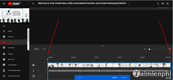 How to edit the youtube video does not make the link or the structure 3