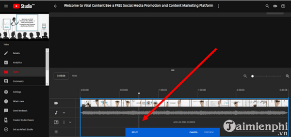 How to edit the youtube video does not make the link or the structure 5