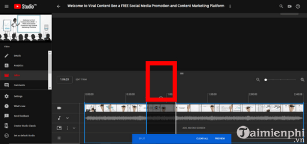 How to edit the youtube video does not make the link or the structure 6