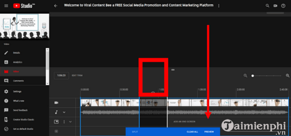 How to edit the youtube video does not make the link or the structure 7