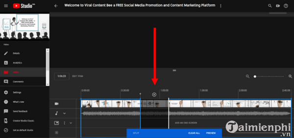 How to edit the youtube video does not make the link or the structure 8