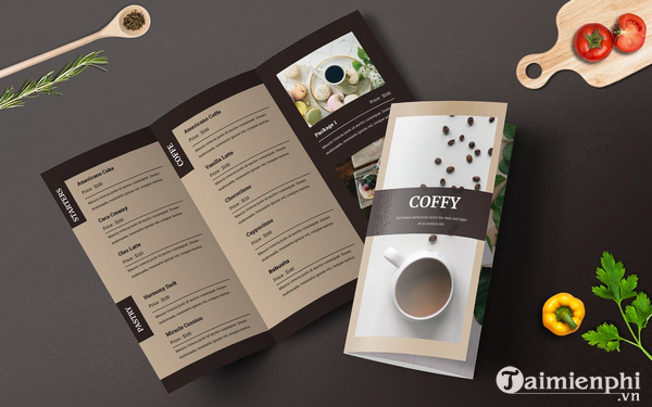 Mẫu menu thực đơn nhà hàng đẹp 13