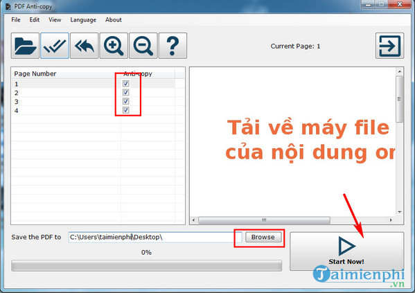 chong sao chep noi dung file pdf