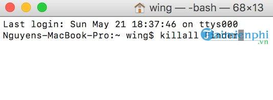 cach sua loi error code 43 macos khi xoa file delete file 3