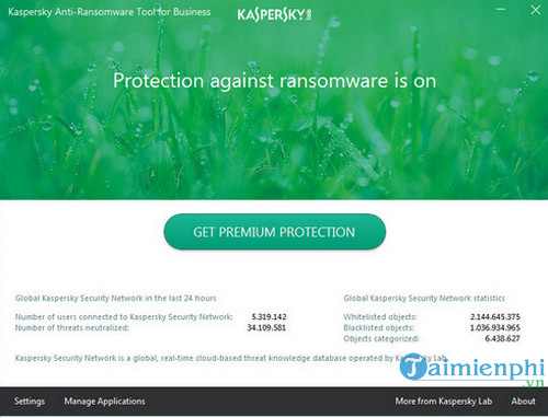 su dung kaspersky anti ransomware tool for business diet ransomware 5